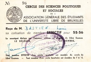 Louis Bastien ULB 55 - 56 CPS